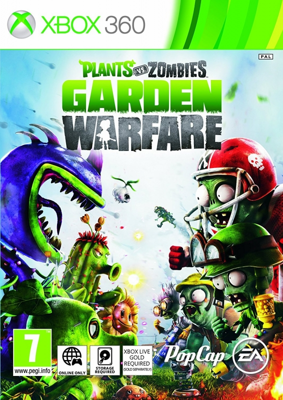 Plants vs Zombies: Garden Warfare on X360 - Gamewise