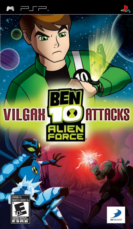 Ben 10 Alien Force: Vilgax Attacks [Gamewise]