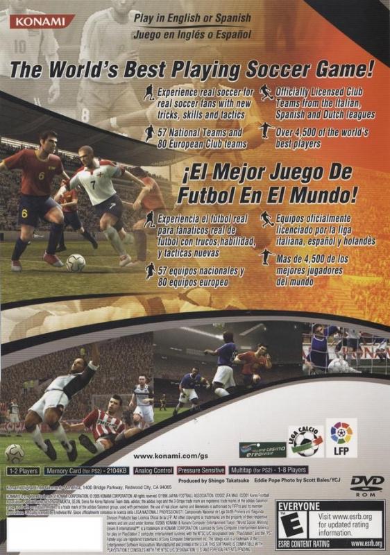 Pro Evolution Soccer 4 For Playstation 2 Sales Wiki Release