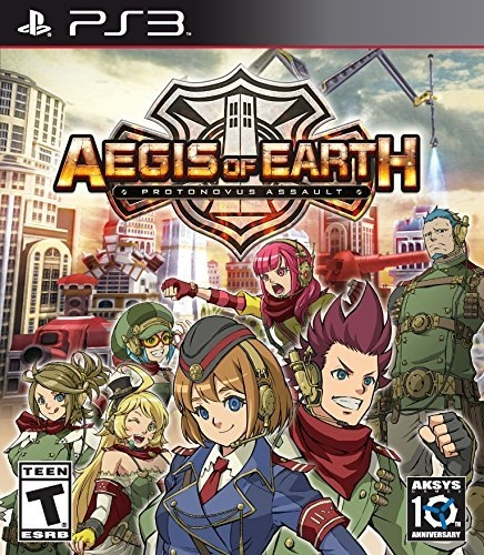 Aegis of Earth: Protonovus Assault on PS3 - Gamewise