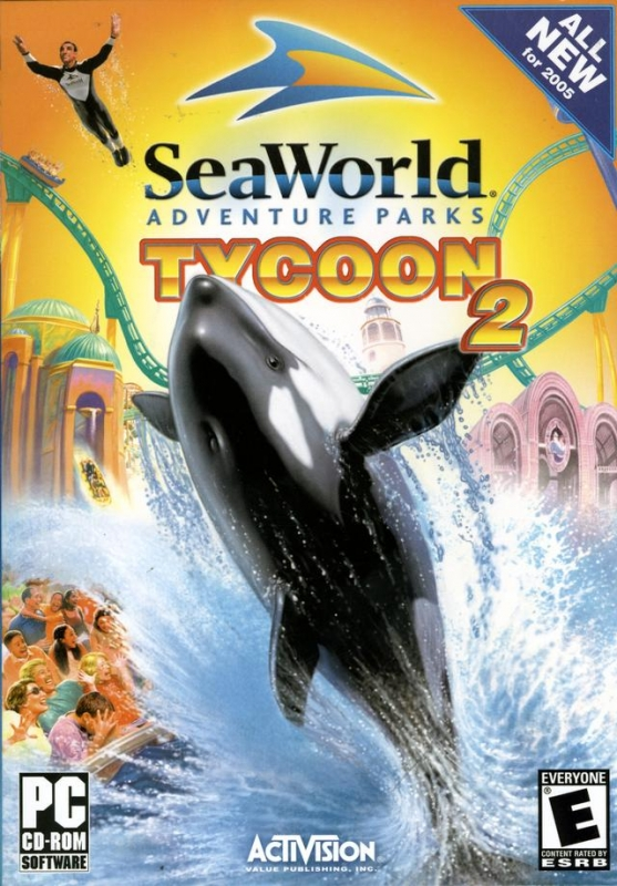 SeaWorld Adventure Parks Tycoon 2 (Microsoft Windows
