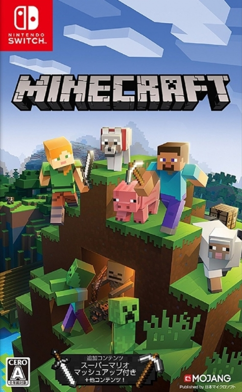 Minecraft on NS - Gamewise