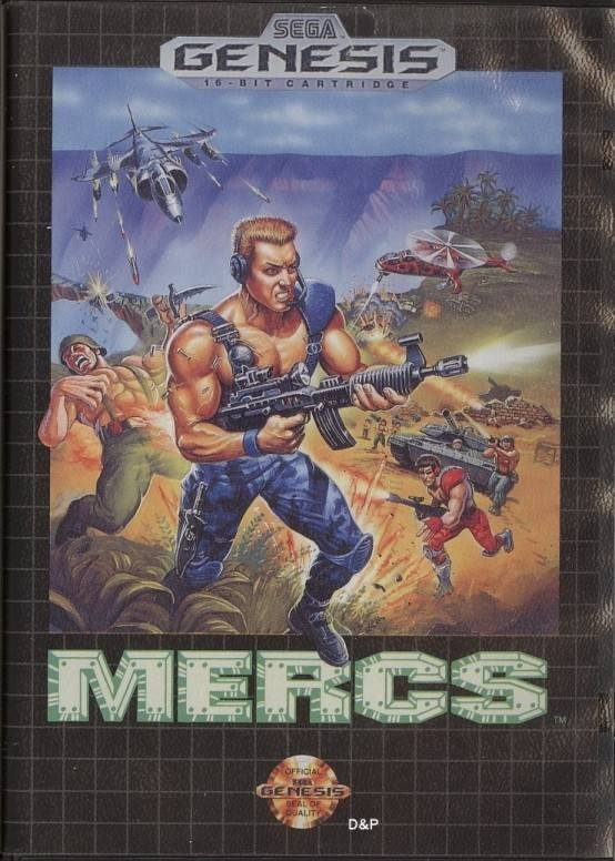 MERCS for Sega Genesis - Cheats, Codes, Guide, Walkthrough, Tips