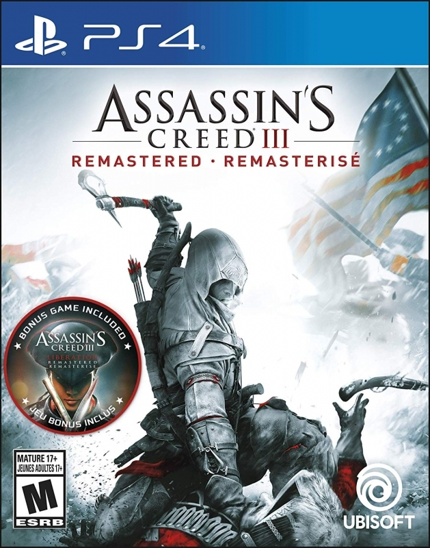 Assassin S Creed Iii Remastered For Playstation 4 Sales Wiki
