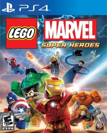 Lego Marvel Super Heroes on PS4 - Gamewise