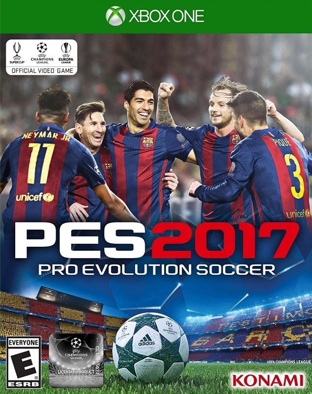 Pro Evolution Soccer 2017 [Gamewise]
