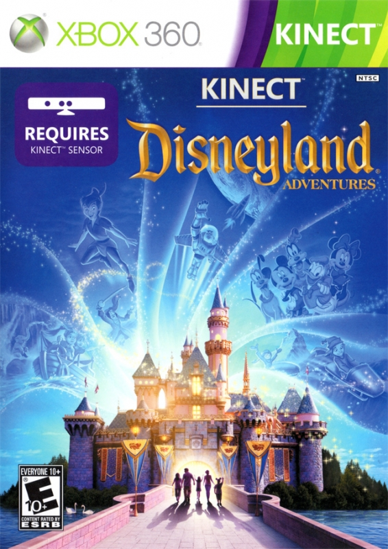 Kinect: Disneyland Adventures on X360 - Gamewise