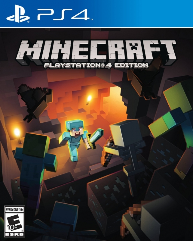 MineCraft on PS4 - Gamewise
