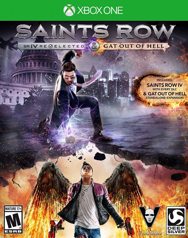 Saints Row IV: Re-Elected on XOne - Gamewise