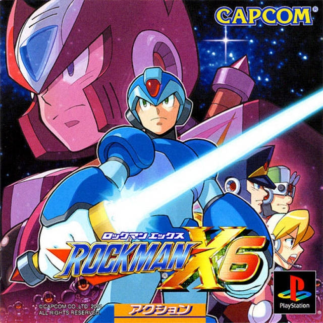 Mega Man X6 on PS - Gamewise