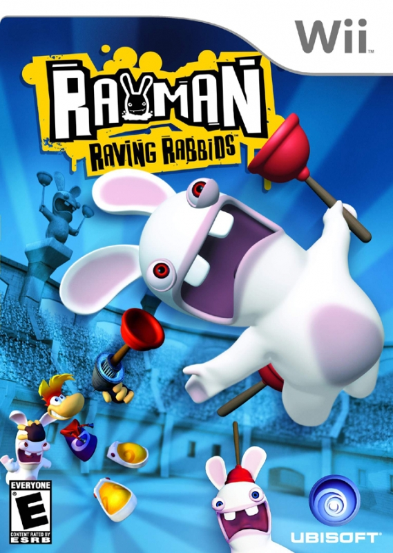 Rayman Raving Rabbids on Wii - Gamewise