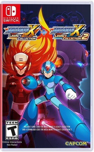 Mega Man X Legacy Collection on NS - Gamewise