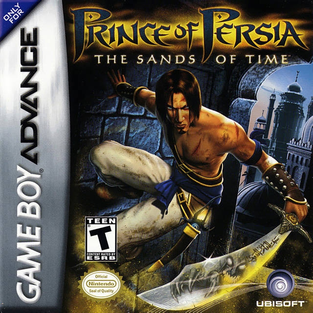 Prince Of Persia The Sands Of Time For Game Boy Advance Sales
