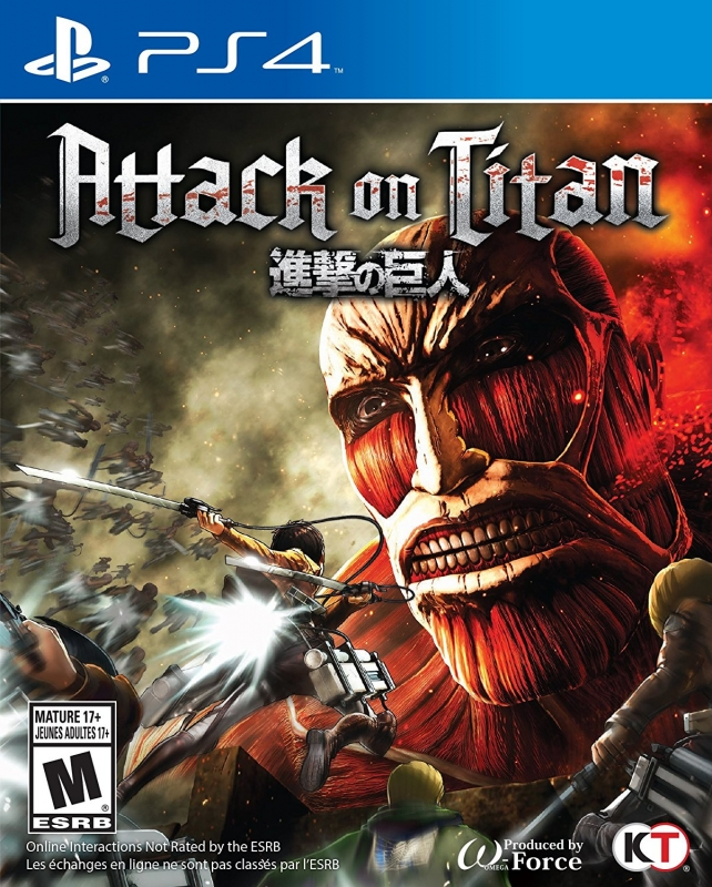 Attack on Titan (KOEI) for PS4 Walkthrough, FAQs and Guide on Gamewise.co