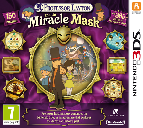 Professor Layton and the Mask of Miracle for 3DS Walkthrough, FAQs and Guide on Gamewise.co