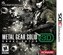 Metal Gear Solid: Snake Eater 3D for 3DS Walkthrough, FAQs and Guide on Gamewise.co
