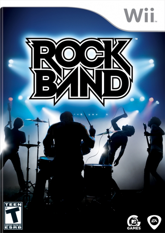 Rock Band on Wii - Gamewise
