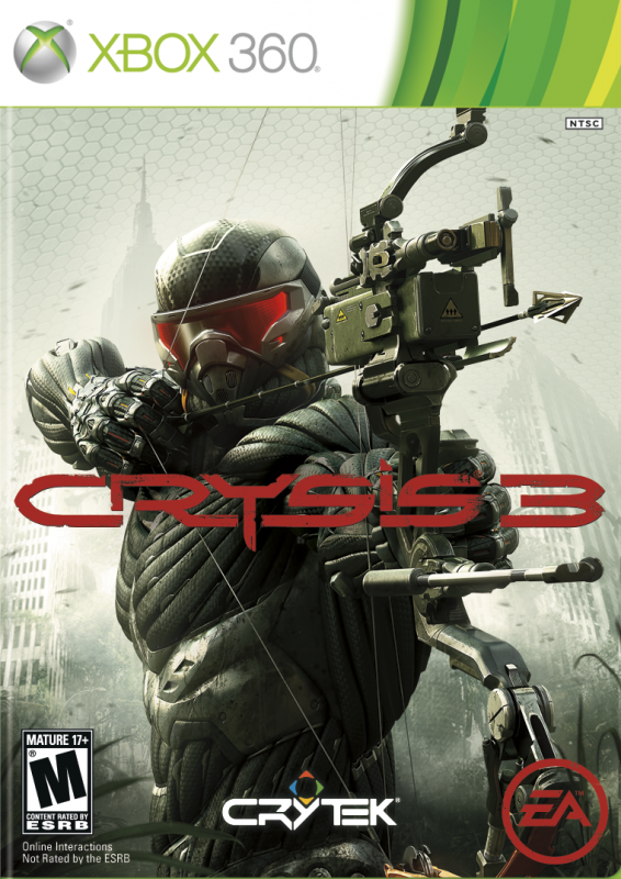 Crysis 3 on X360 - Gamewise