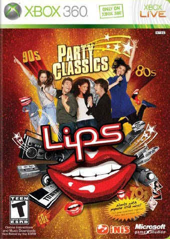 Lips: Party Classics on X360 - Gamewise