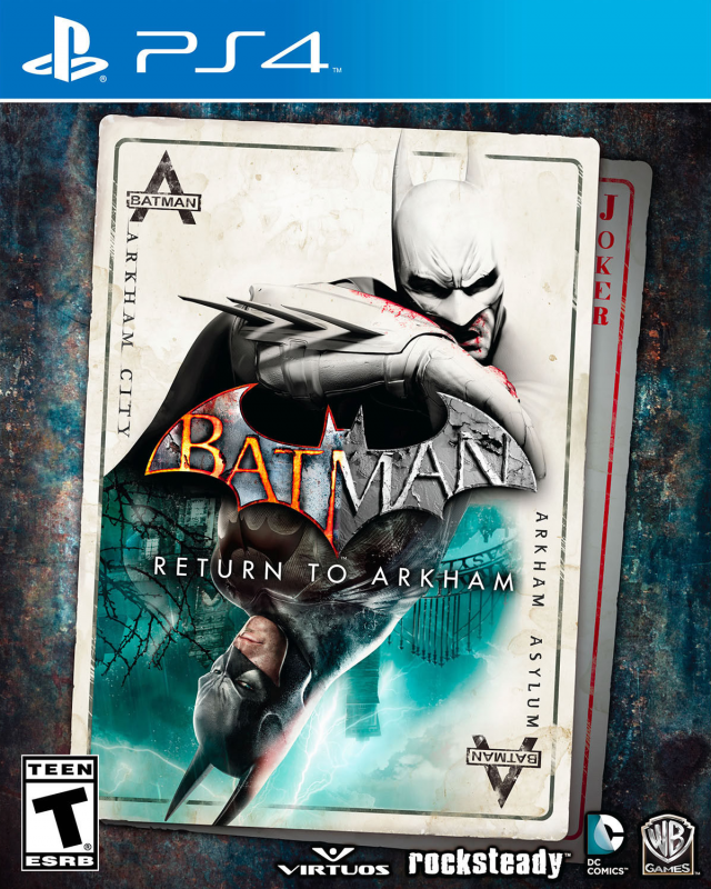 Batman: Return to Arkham on PS4 - Gamewise