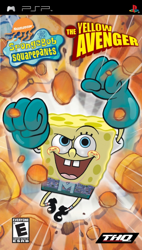 SpongeBob SquarePants: The Yellow Avenger on PSP - Gamewise