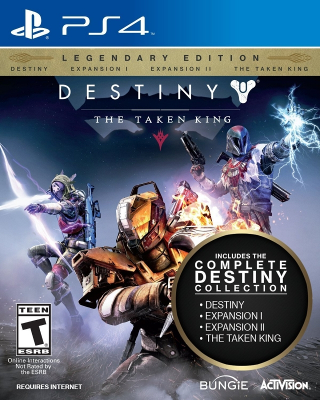 Destiny: The Taken King for PS4 Walkthrough, FAQs and Guide on Gamewise.co