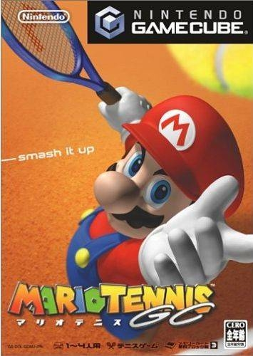 Mario Power Tennis on GC - Gamewise