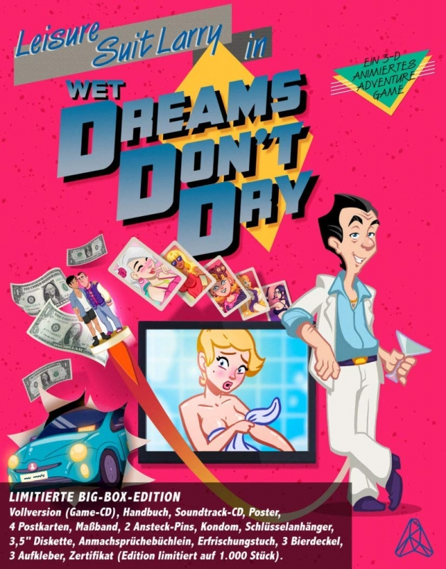 Leisure Suit Larry: Wet Dreams Don't Dry for PC Walkthrough, FAQs and Guide on Gamewise.co