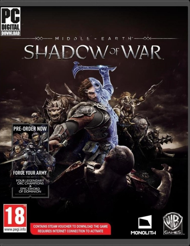 Middle-Earth: Shadow of War for PC Walkthrough, FAQs and Guide on Gamewise.co