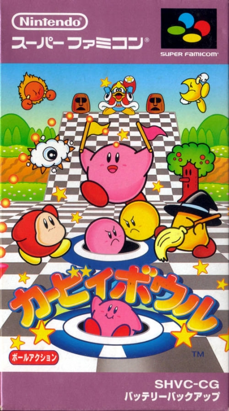 Kirby's Dream Course on SNES - Gamewise