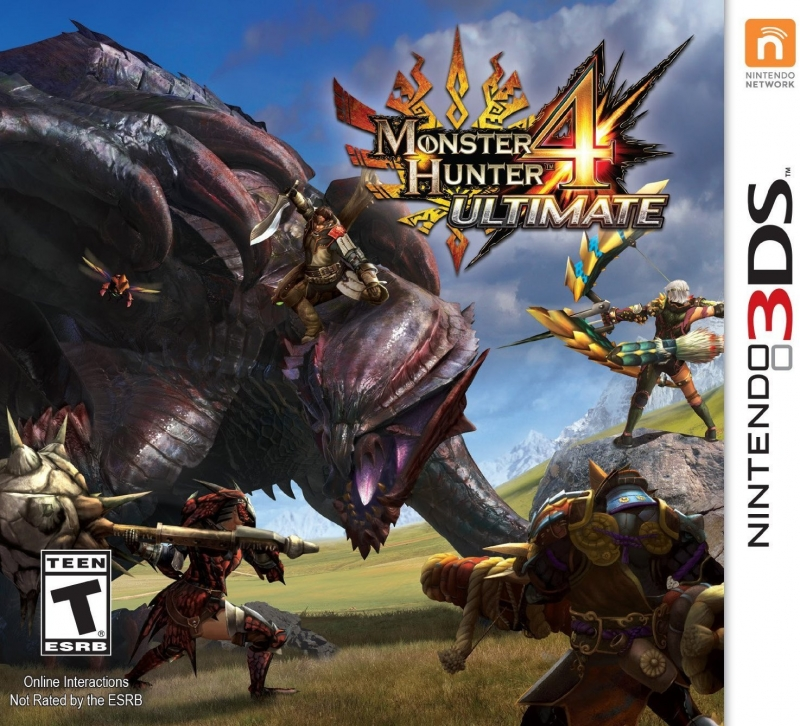 Monster Hunter 4 Ultimate on 3DS - Gamewise