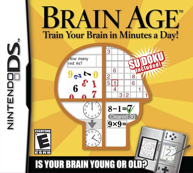 Brain Age: Train Your Brain in Minutes a Day [Gamewise]