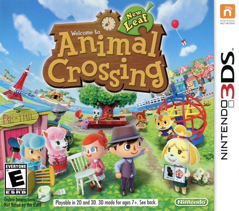 Animal Crossing: New Leaf Wiki Guide, 3DS