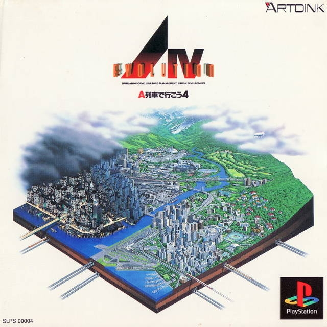 A. IV Evolution: A Ressha de Ikou 4 on PS - Gamewise