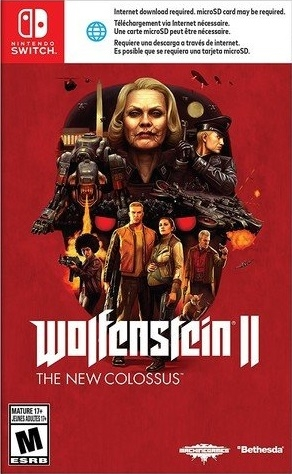 Wolfenstein II: The New Colossus on NS - Gamewise