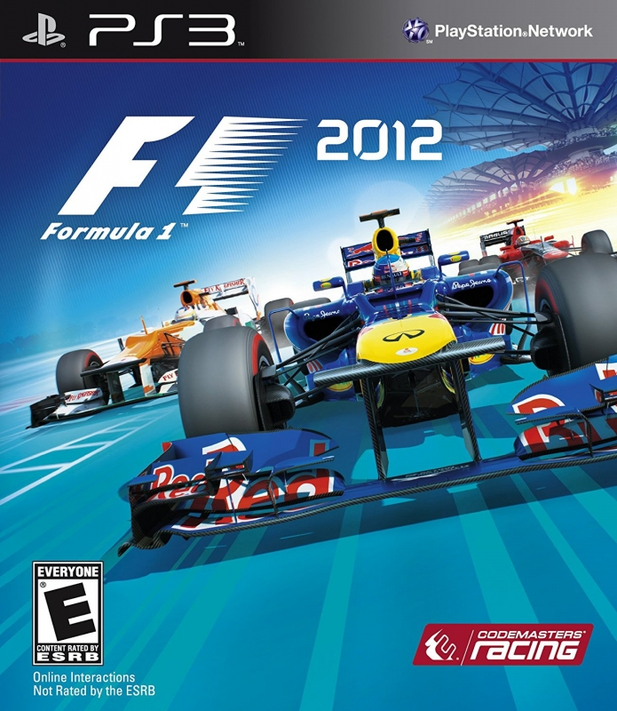F1 2012 on PS3 - Gamewise