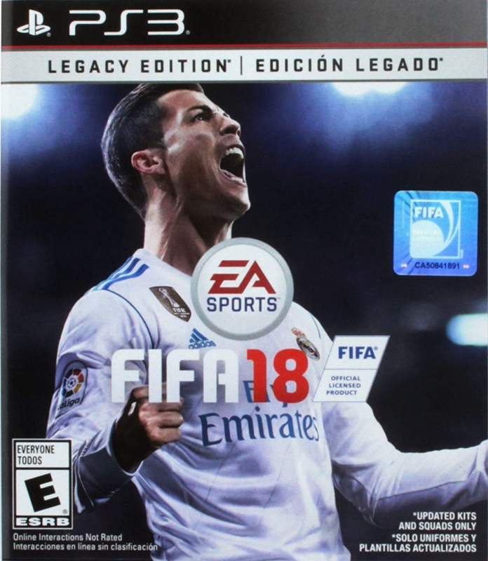 FIFA 18 for PS3 Walkthrough, FAQs and Guide on Gamewise.co