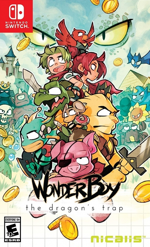 Wonder Boy: The Dragon's Trap (Remake) on NS - Gamewise