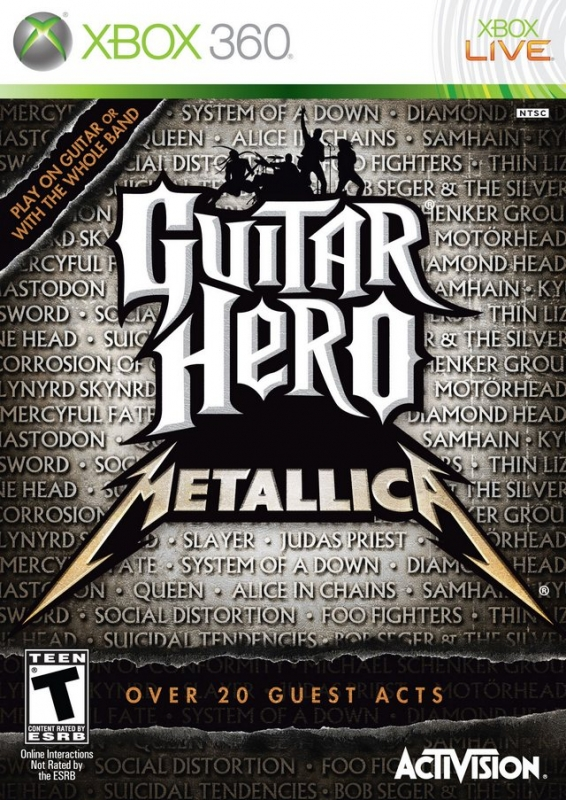Guitar Hero: Metallica Wiki - Gamewise