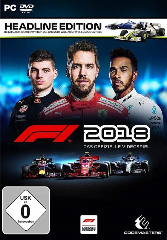 F1 2018 [Gamewise]
