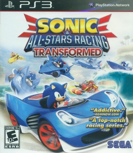 Sonic & All-Stars Racing Transformed on PS3 - Gamewise