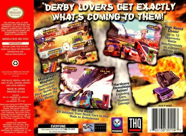 n64 demolition game