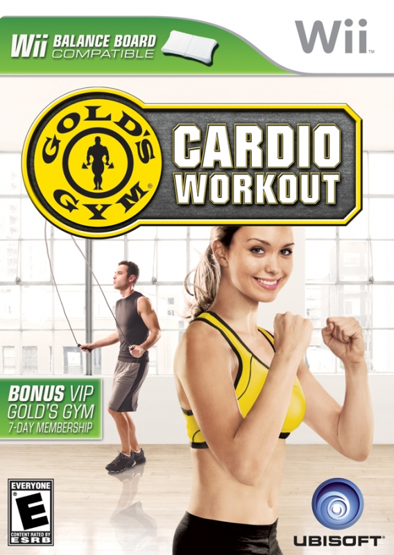 Gamewise Gold's Gym: Cardio Workout (Others sales) Wiki Guide, Walkthrough and Cheats