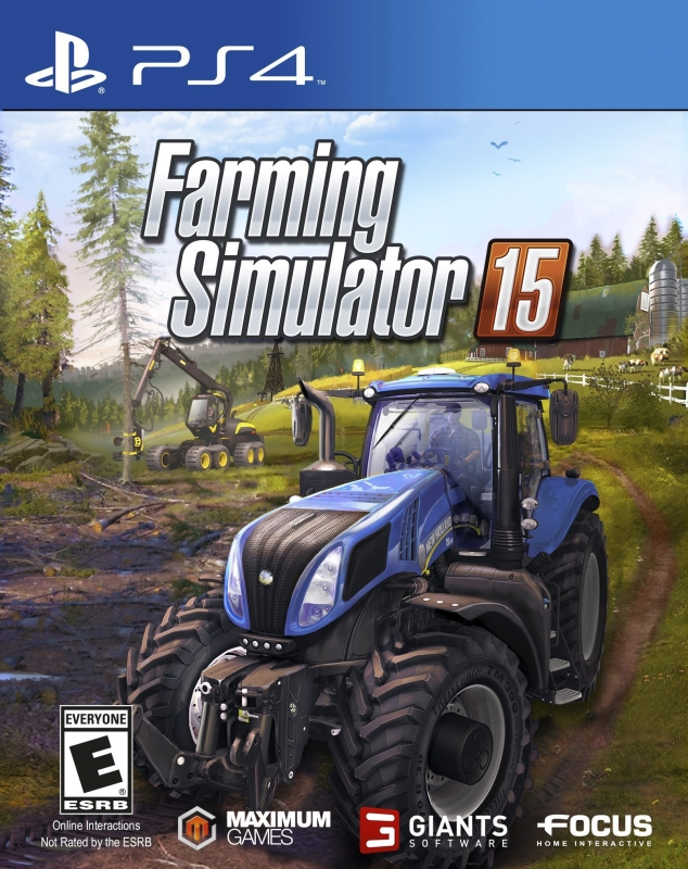 Farming Simulator 2015 on PS4 - Gamewise