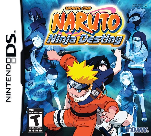 Naruto: Ninja Destiny on DS - Gamewise