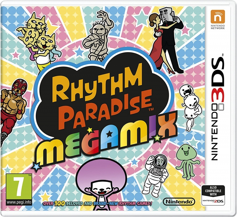 Rhythm Heaven: The Best+ on 3DS - Gamewise