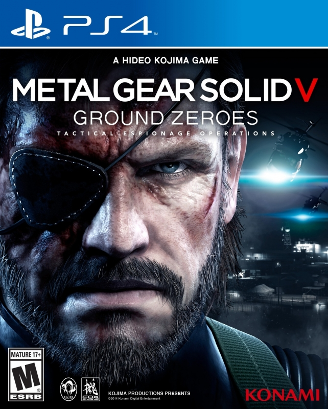 Metal Gear Solid: Ground Zeroes Release Date - PS4