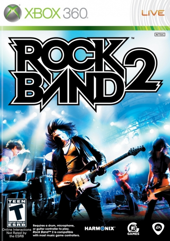 Rock Band 2 on X360 - Gamewise