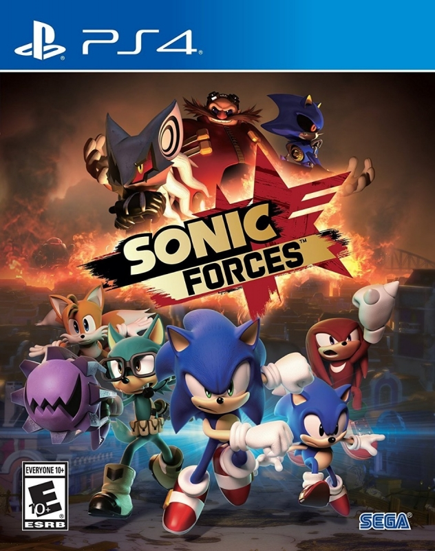 Sonic Forces on PS4 - Gamewise