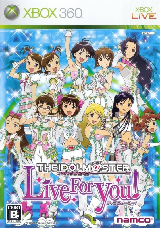 The Idolm@ster: Live for You! on X360 - Gamewise